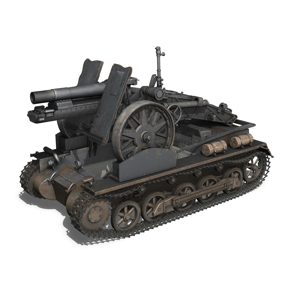 sturmpanzer 1 – bison – alter fritz – 2pzdiv 3d model 3ds fbx lwo lw lws obj c4d 265797