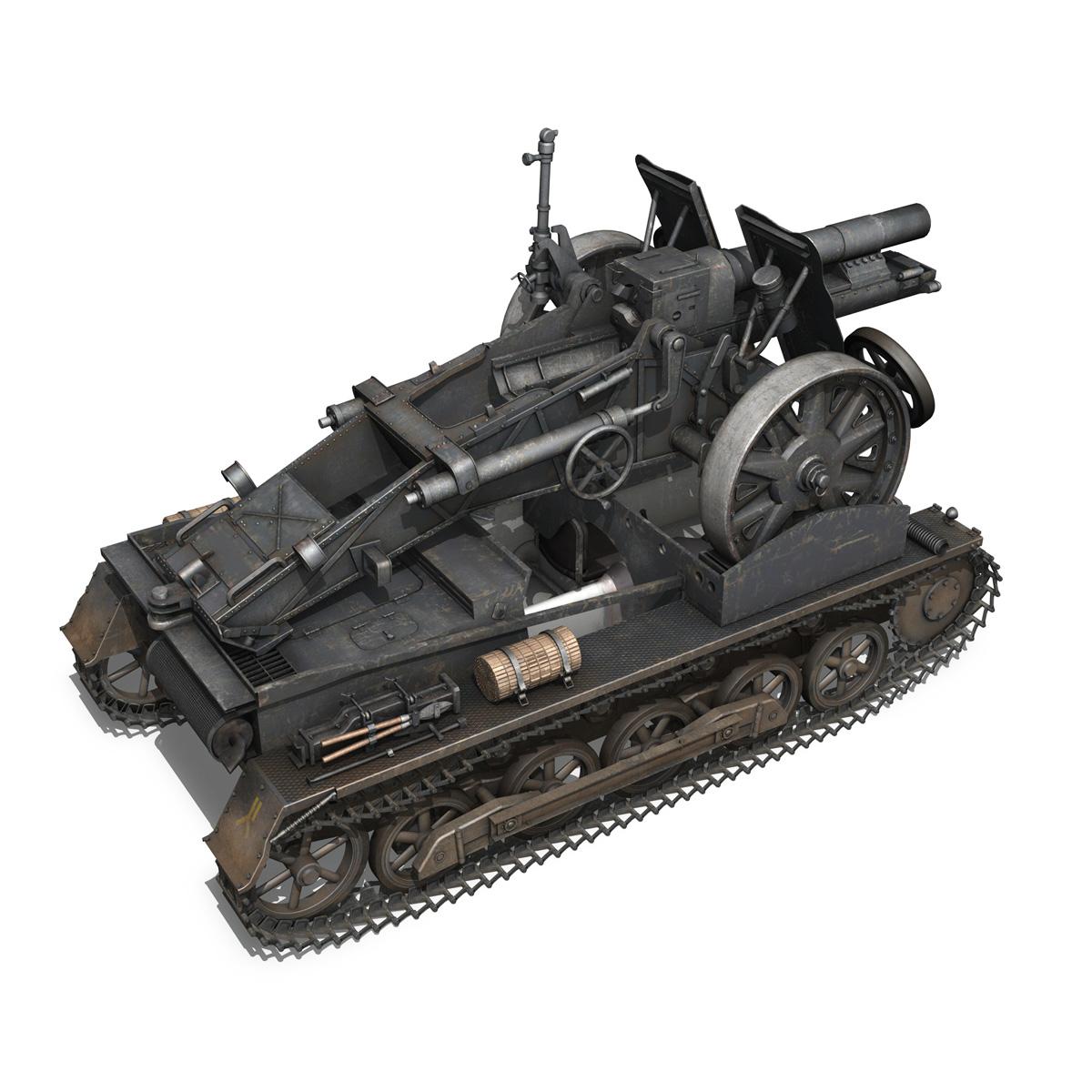 sturmpanzer 1 – bison – alter fritz – 2pzdiv 3d model 3ds fbx lwo lw lws obj c4d 265798