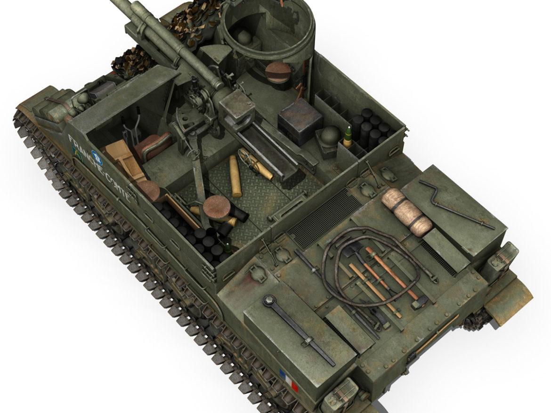 M7 Priest - Franche-Comte 3d model 0