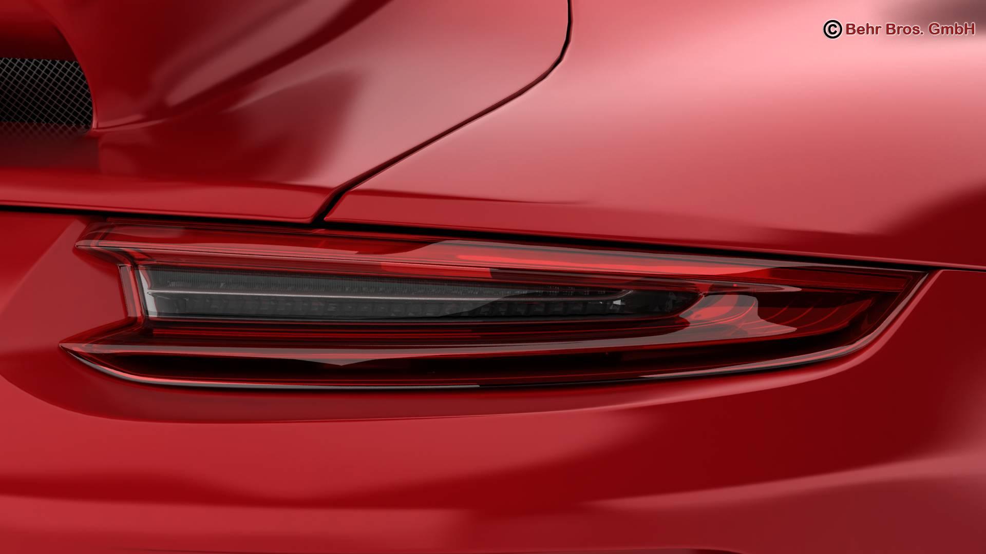 porsche 911 gt3 2018 3d model 3ds max fbx c4d lwo ma mb obj 265904