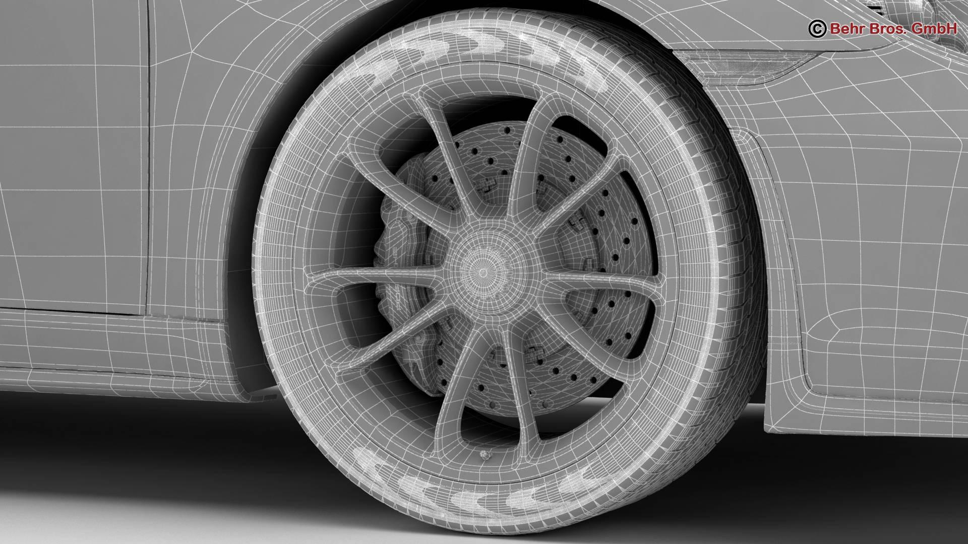 porsche 911 gt3 2018 3d model 3ds max fbx c4d lwo ma mb obj 265917