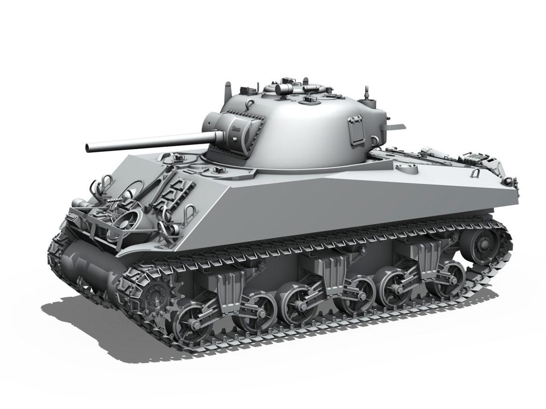 M4A3 75mm - Sherman - Barfly 3d model 0