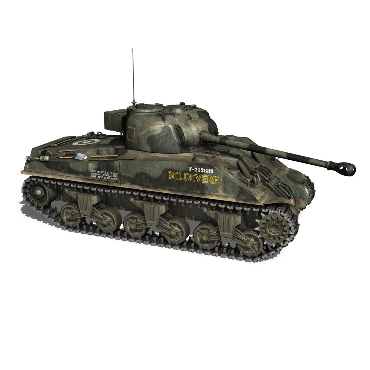 Sherman MK VC Firefly - Beldevere 3d model  266017