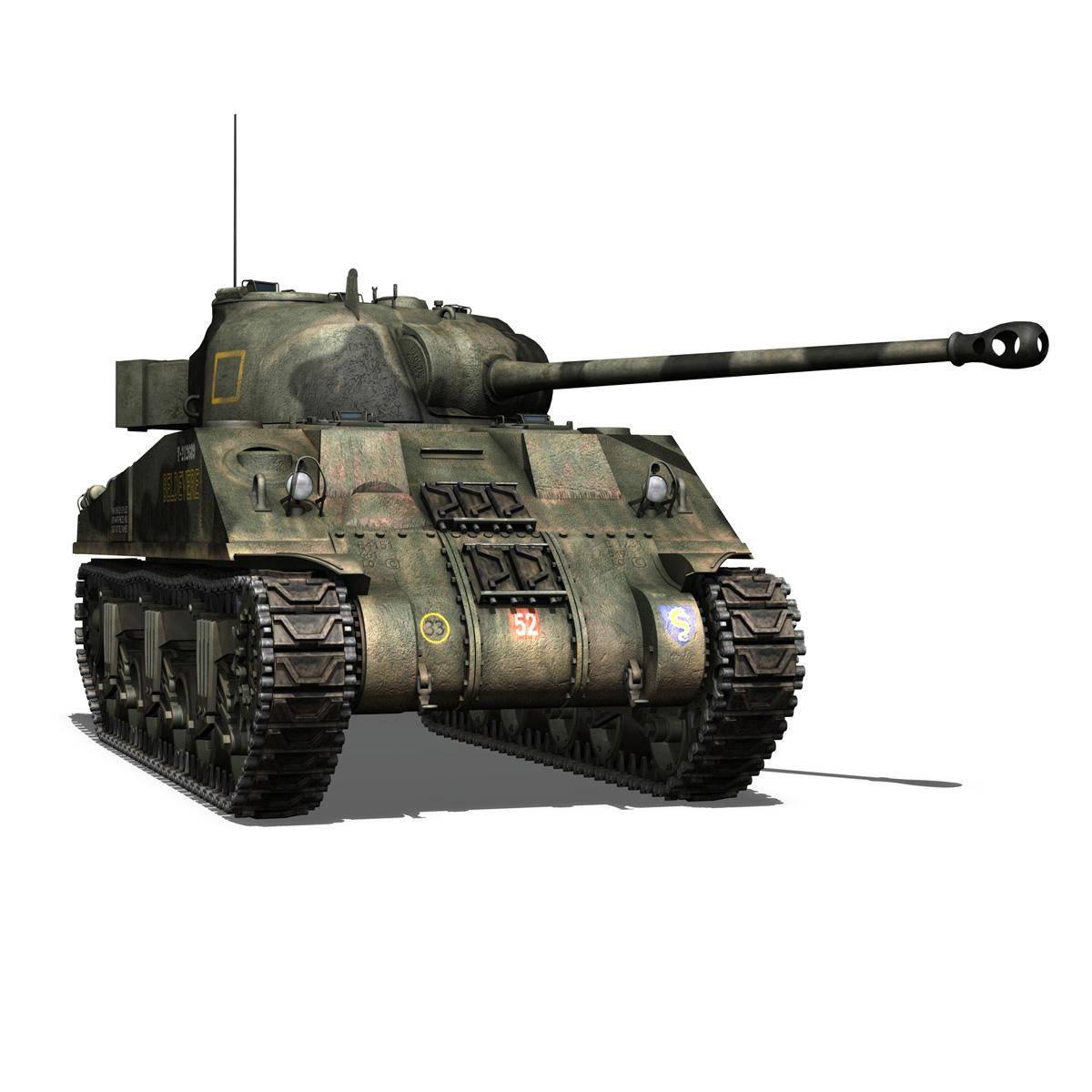 Sherman MK VC Firefly - Beldevere 3d model  266019