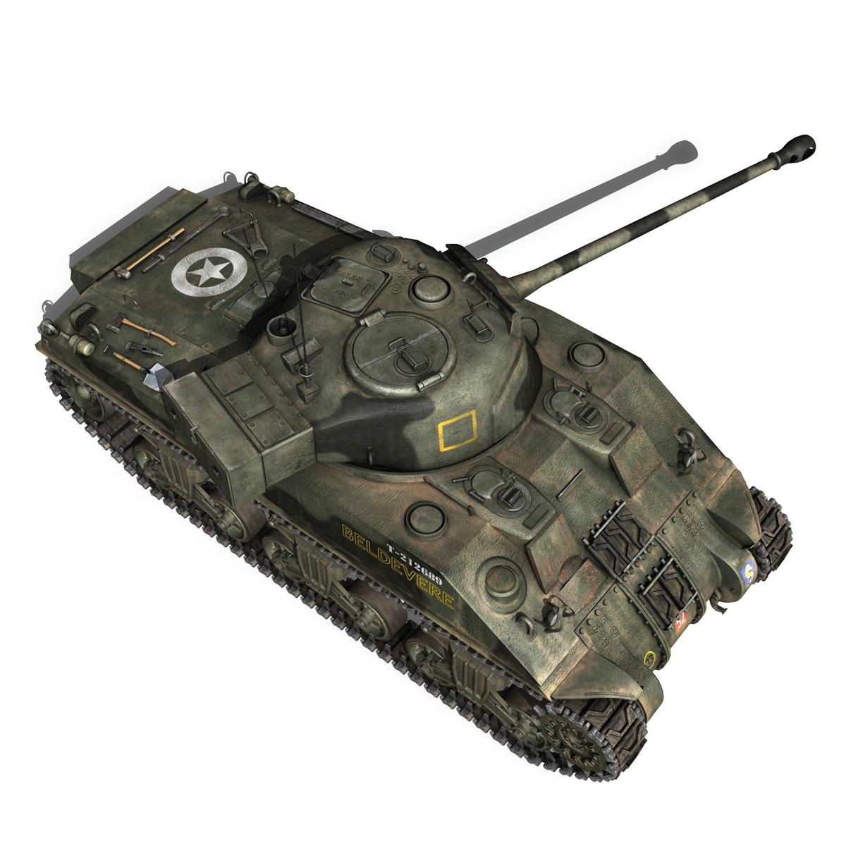 Sherman MK VC Firefly - Beldevere 3d model  266020