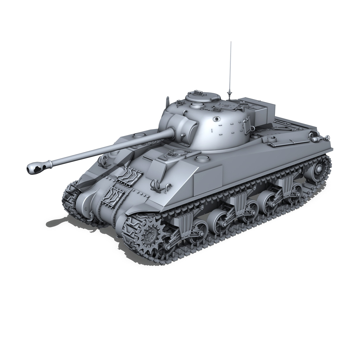Sherman MK VC Firefly - Beldevere 3d model  266023