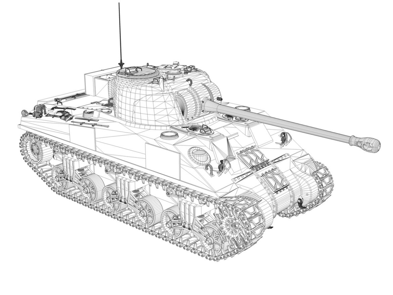 Sherman MK VC Firefly - Beldevere 3d model high poly virtual reality