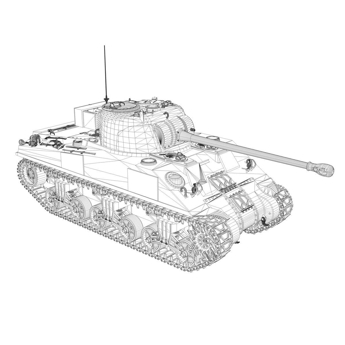 Sherman MK VC Firefly - Beldevere 3d model  266024