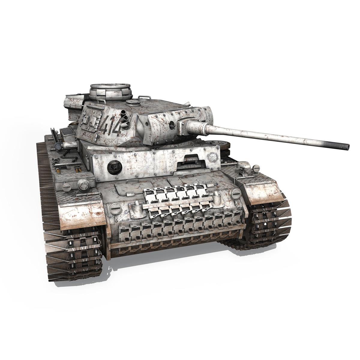 pzkpfw iii – panzer 3 – ausf.m – 414 3d model 3ds obj c4d lwo lw lws 266495