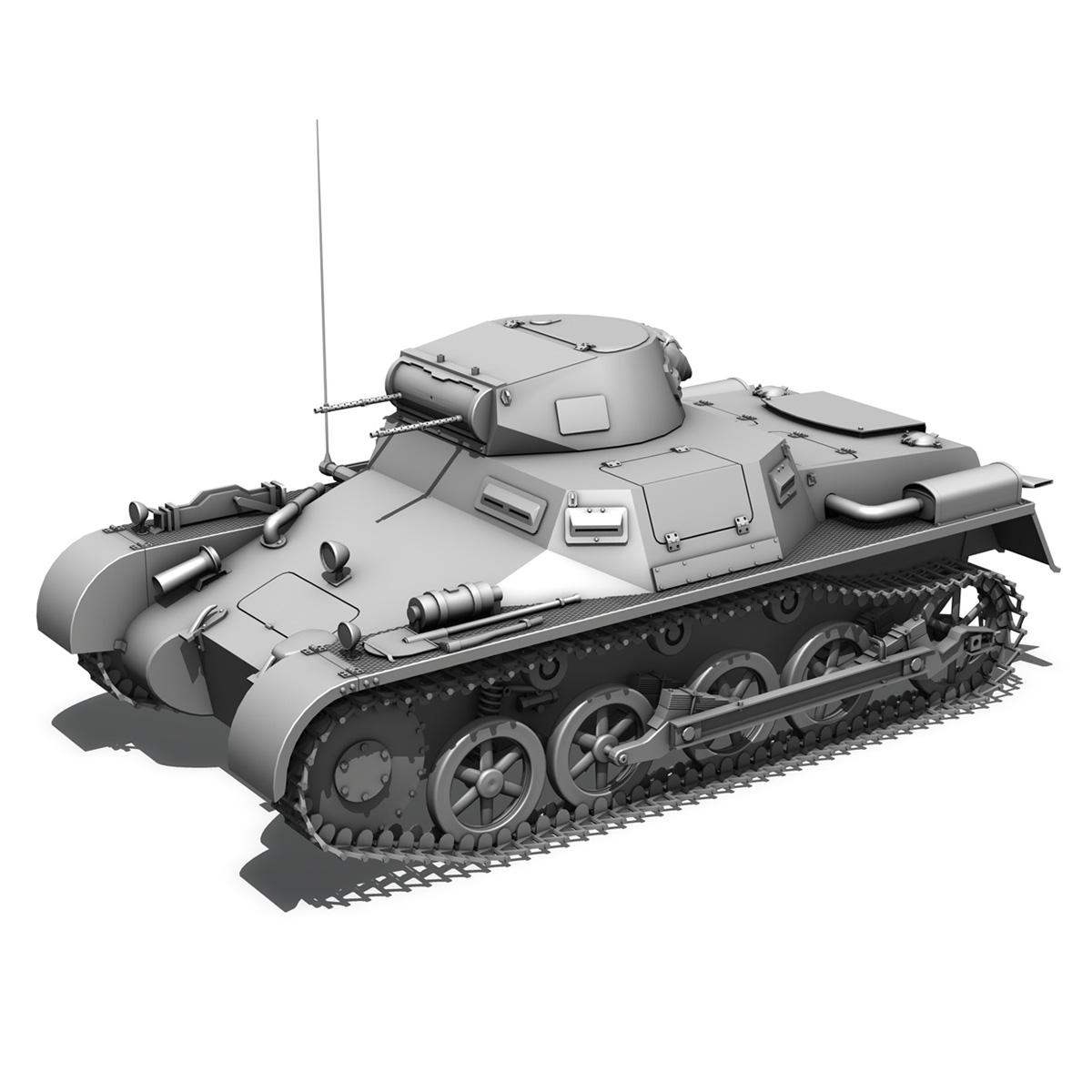 pzkpfw 1 – panzer 1 – ausf. a – 13 3d model 3ds fbx lwo lw lws obj c4d 266638