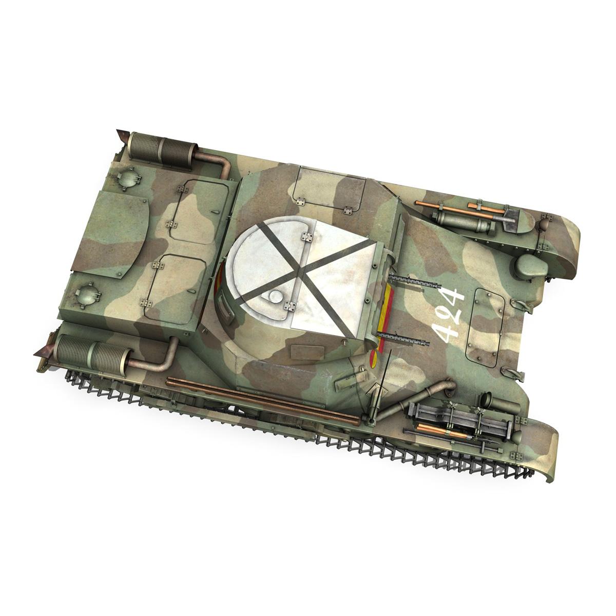 pzkpfw 1 – panzer 1 – ausf. a – 424 3d model 3ds fbx lwo lw lws obj c4d 266654