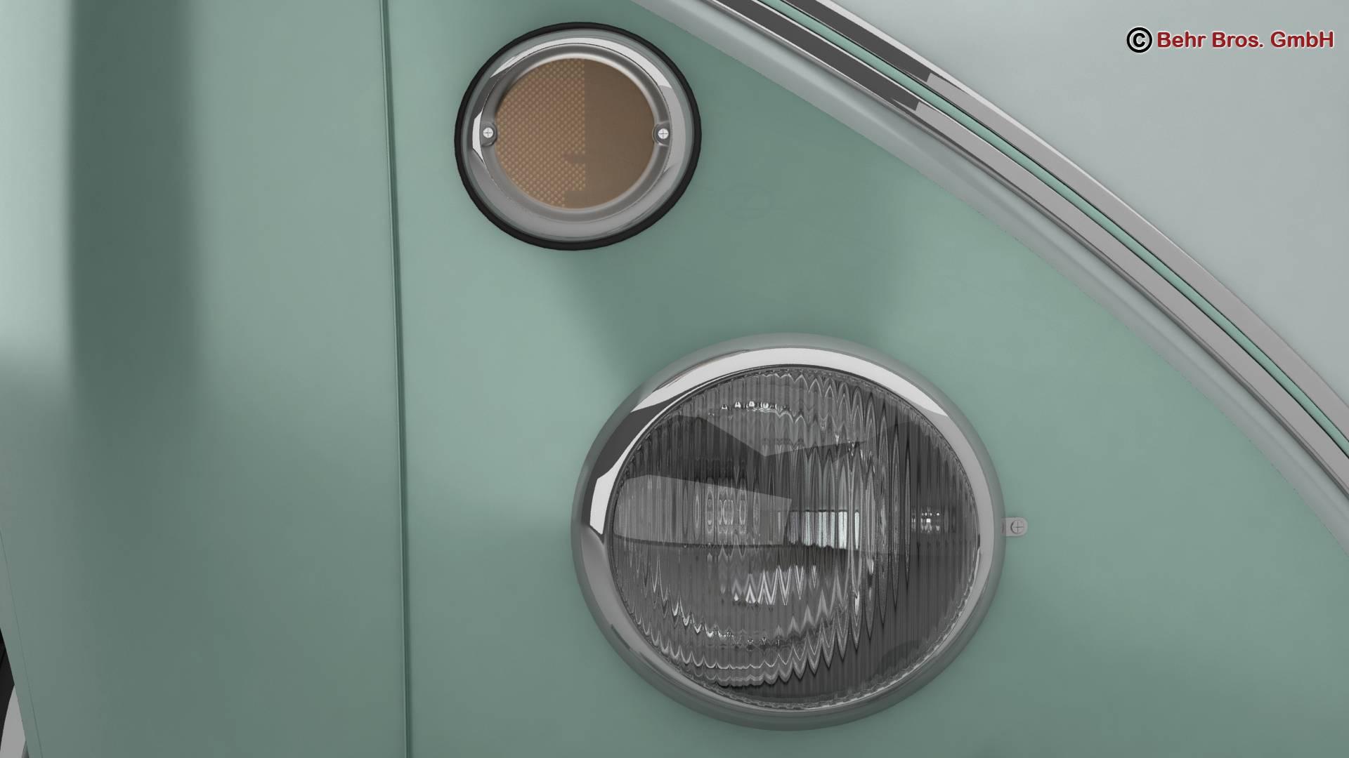 Volkswagen T1 Samba 1963 Accessories 3d model 3ds max fbx c4d lwo ma mb obj 266839