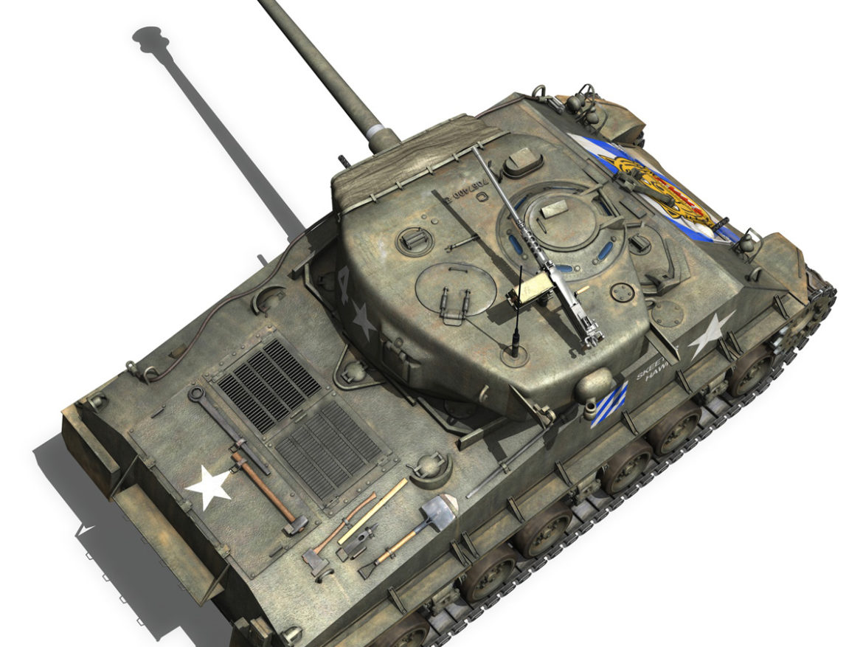 M4A3E8 Sherman - Easy Eight - Skeeter Hawk 3d model