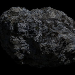 Fantasy Asteroid 3d model 0