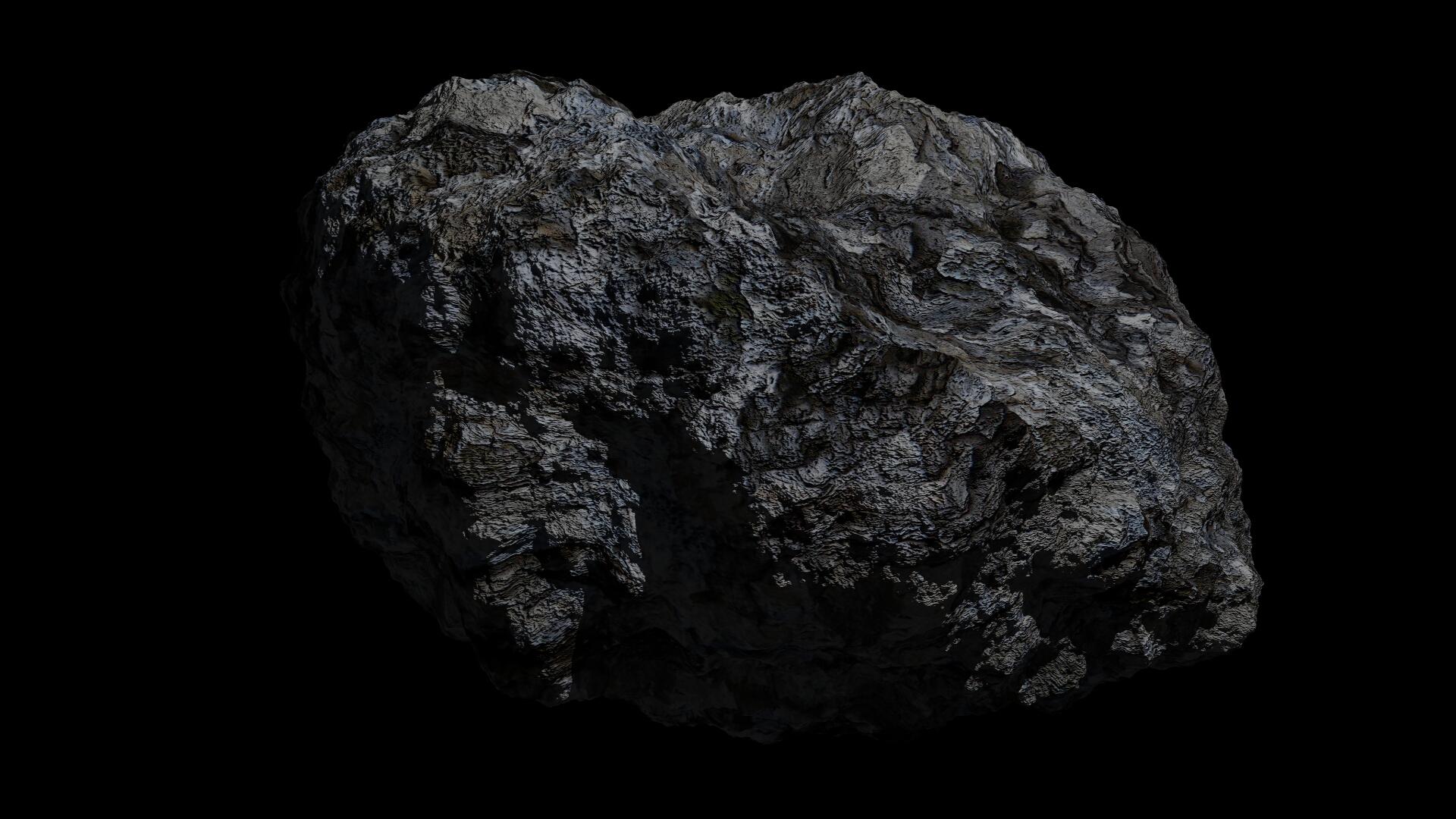 Fantasy Asteroid 3d model  266929
