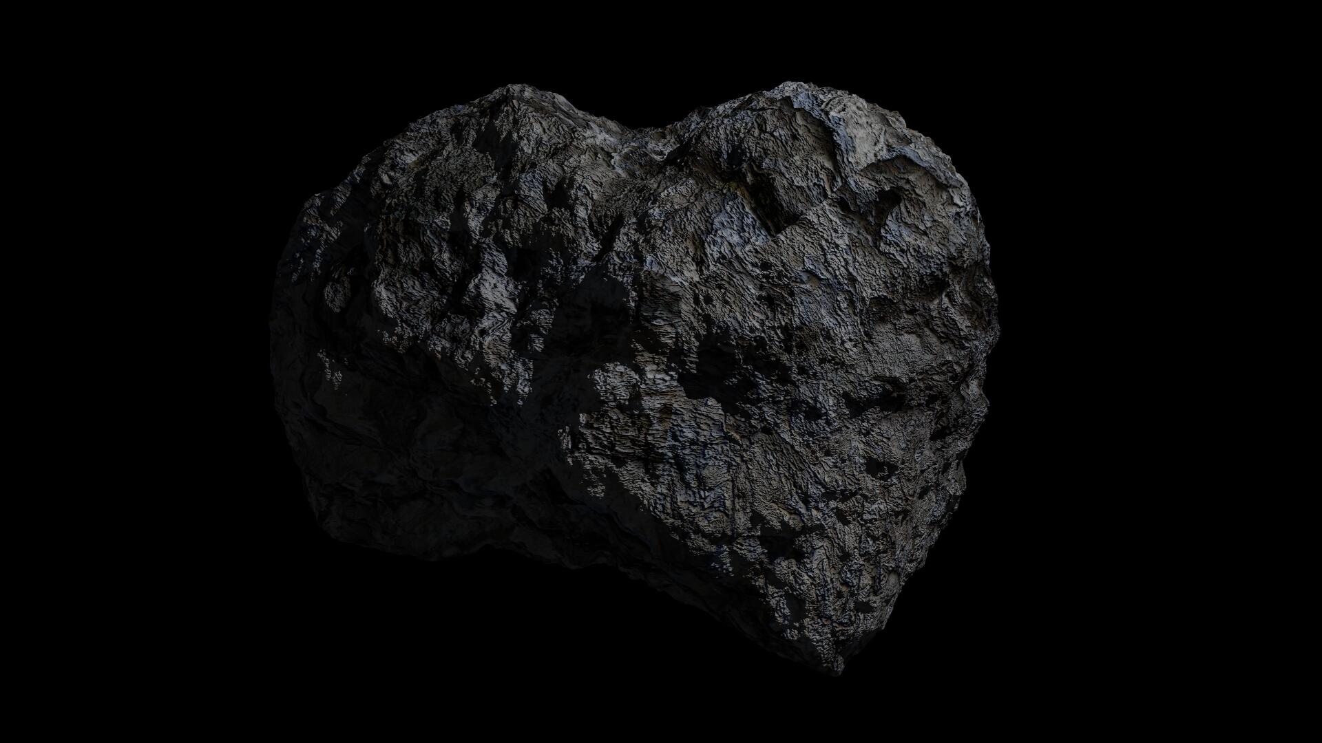 Fantasy Asteroid 3d model  266930
