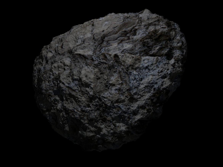Fantasy Asteroid 3d model 0