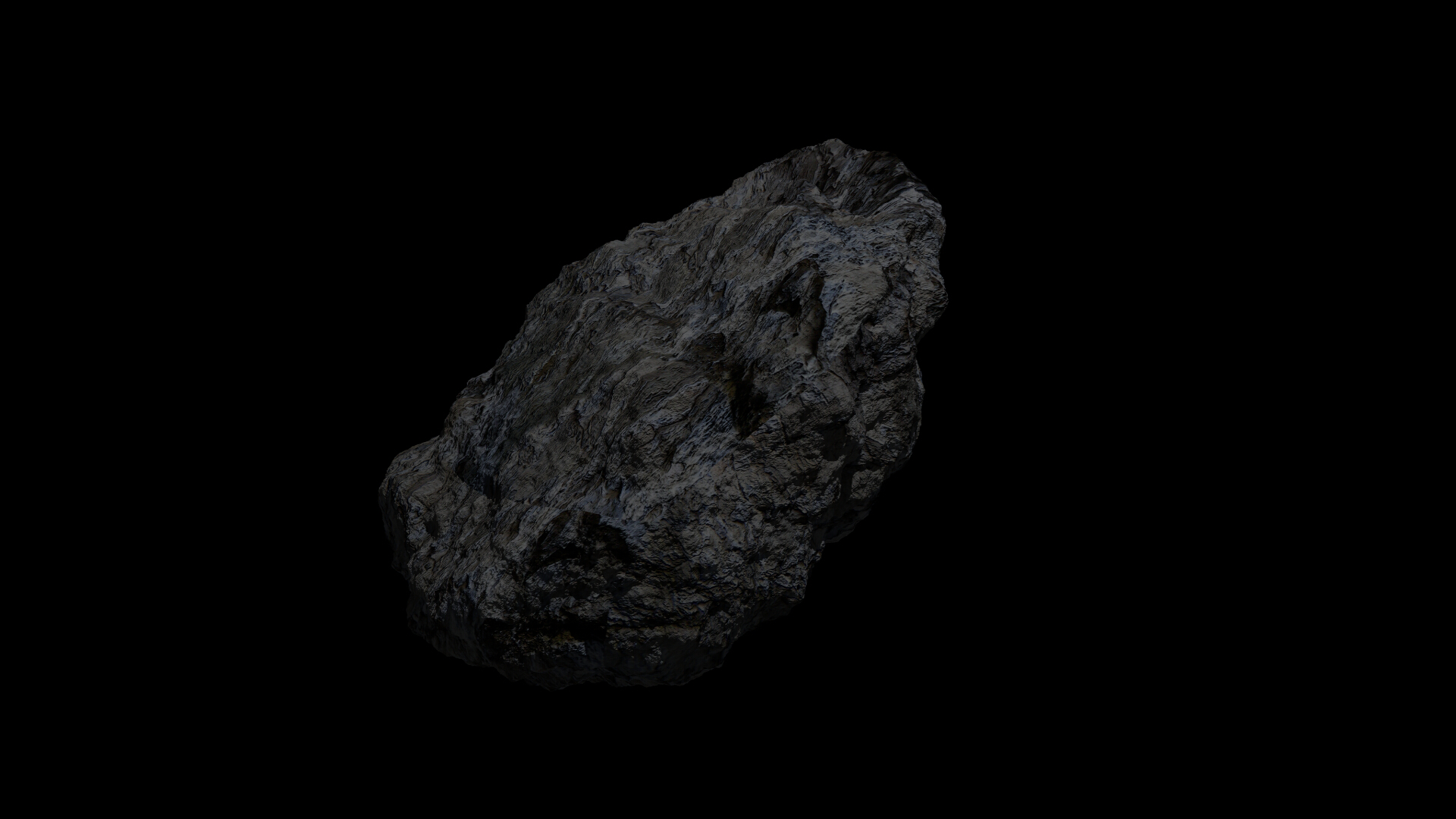 fantasy asteroid 3d model 3ds blend dae obj 266936