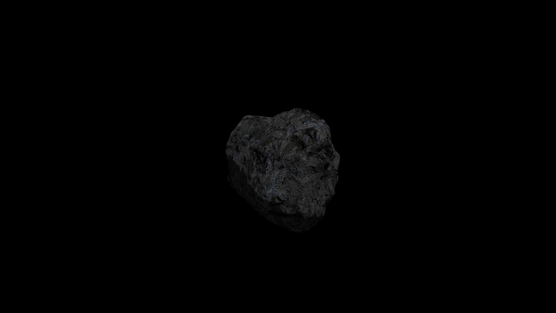 fantasy asteroid 3d model 3ds blend dae obj 266937