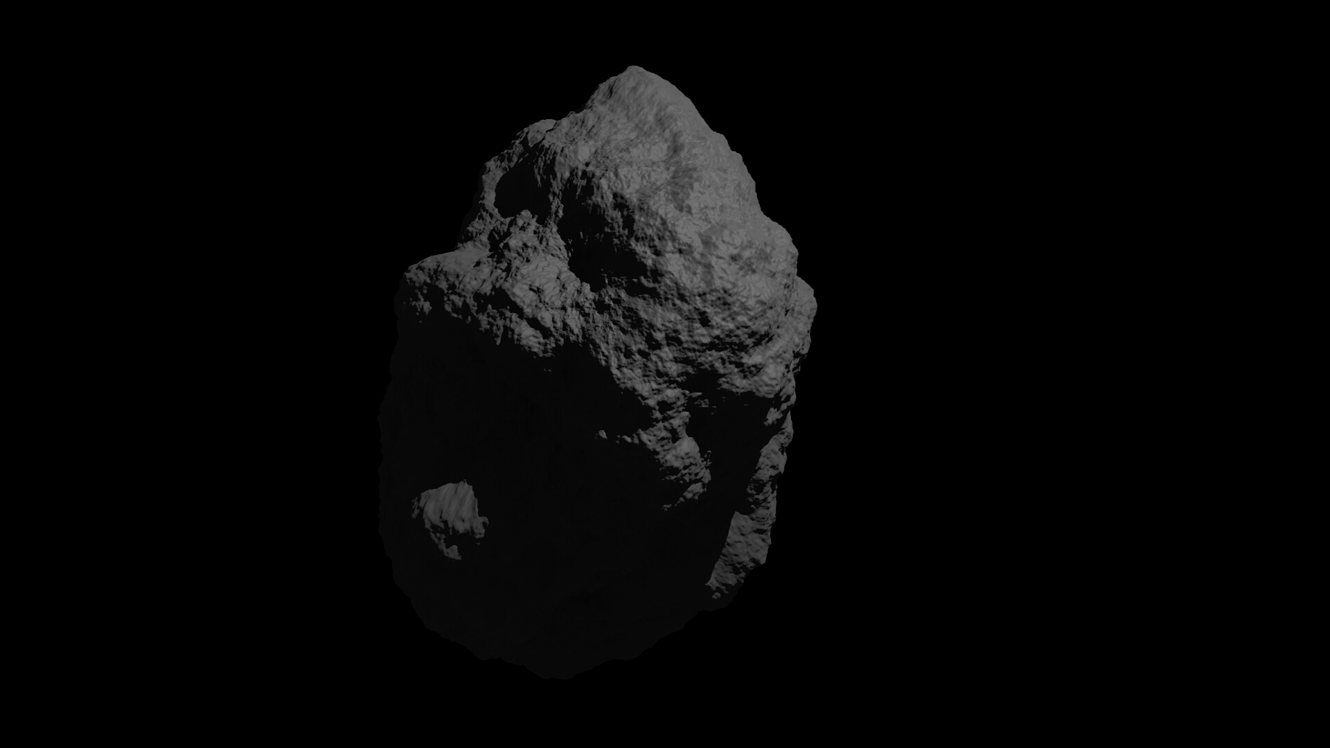 fantasy asteroid 3d model 3ds blend dae obj 266939