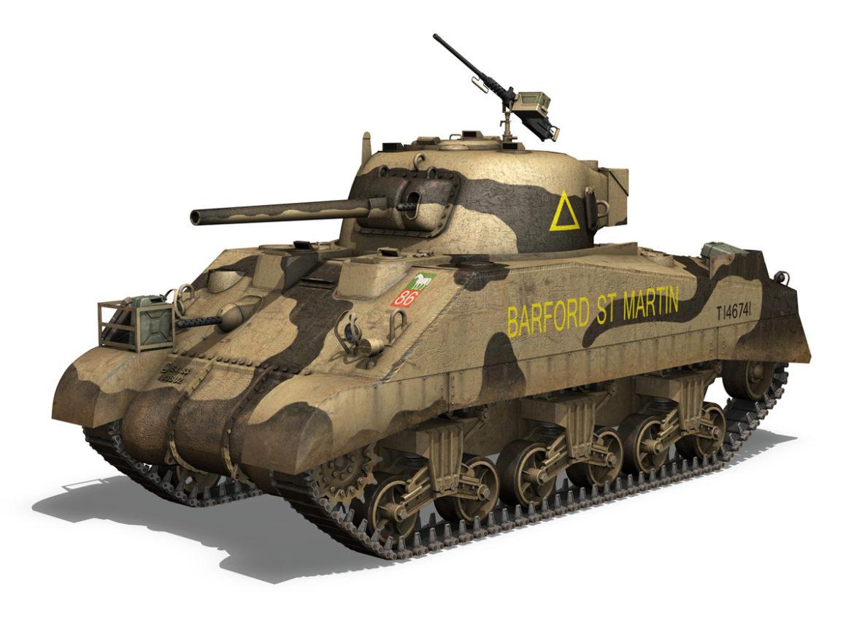 M4 Sherman MK.III - Barford St Martin 3d model 0