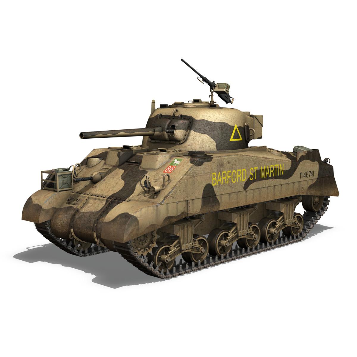 M4 Sherman MK.III - Barford St Martin 3d model  266952