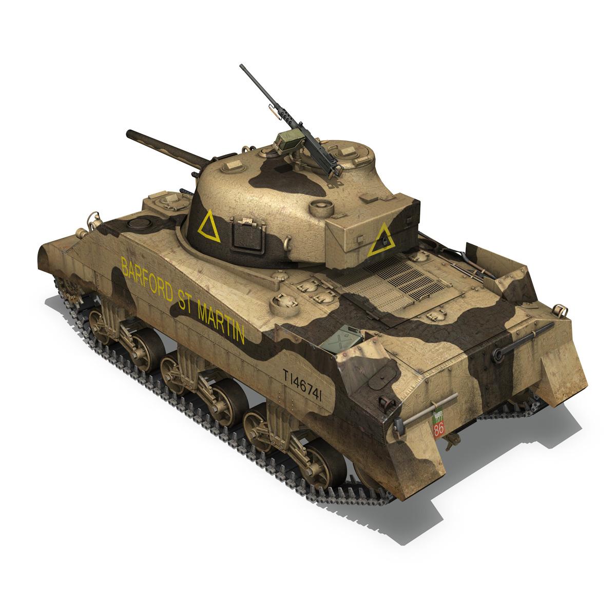 M4 Sherman MK.III - Barford St Martin 3d model  266954