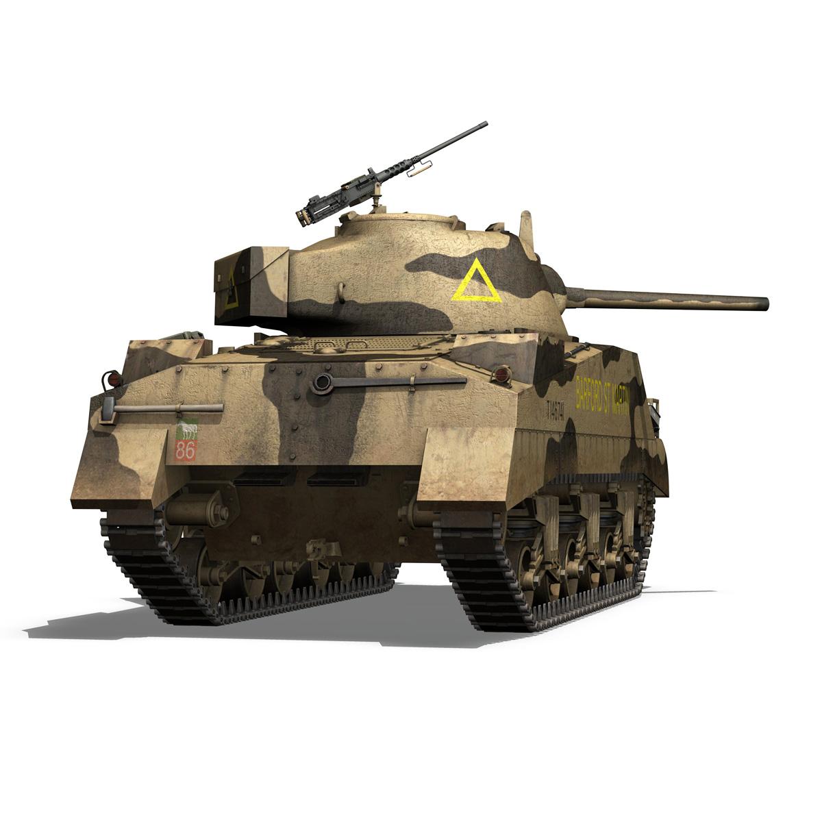 M4 Sherman MK.III - Barford St Martin 3d model  266955