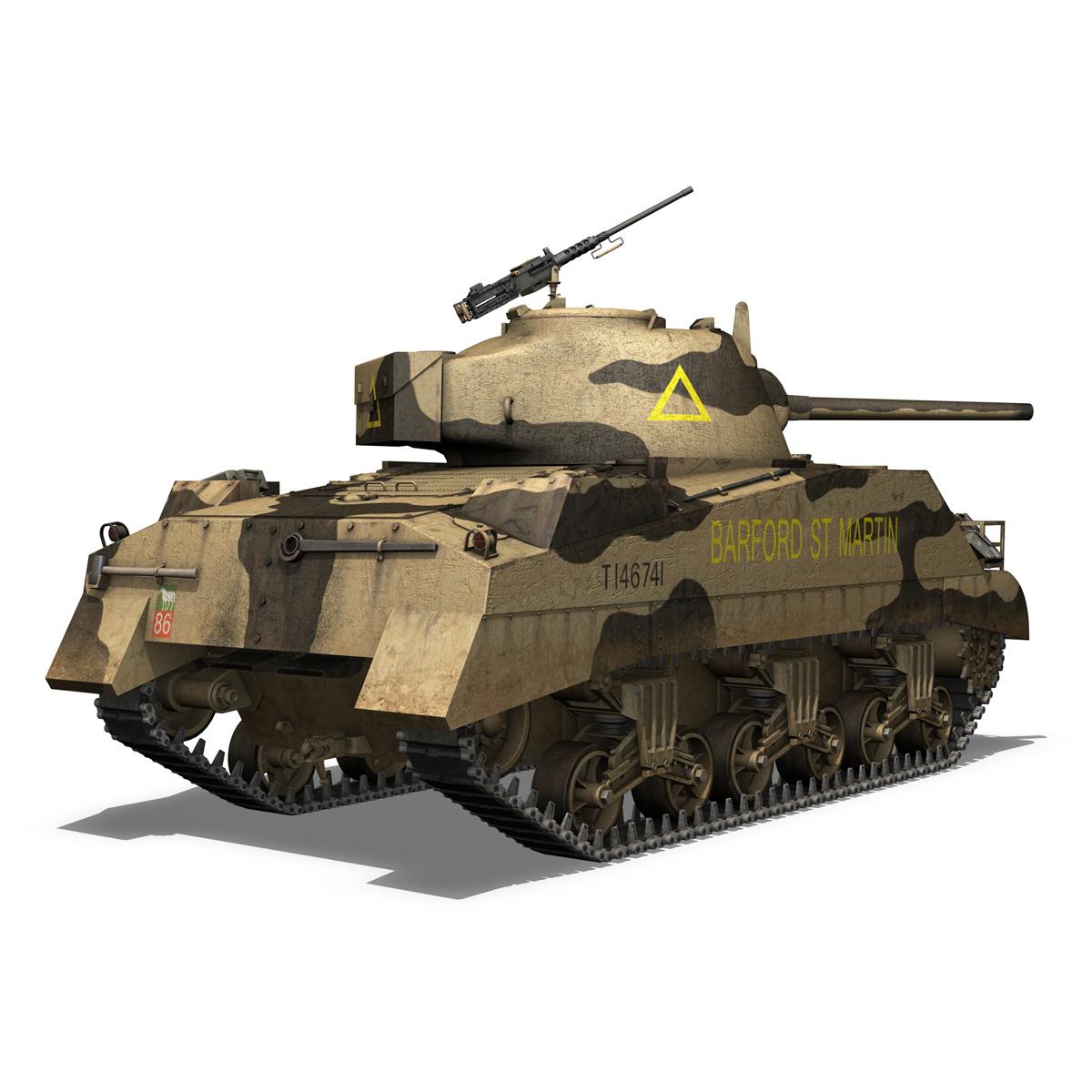 M4 Sherman MK.III - Barford St Martin 3d model  266956