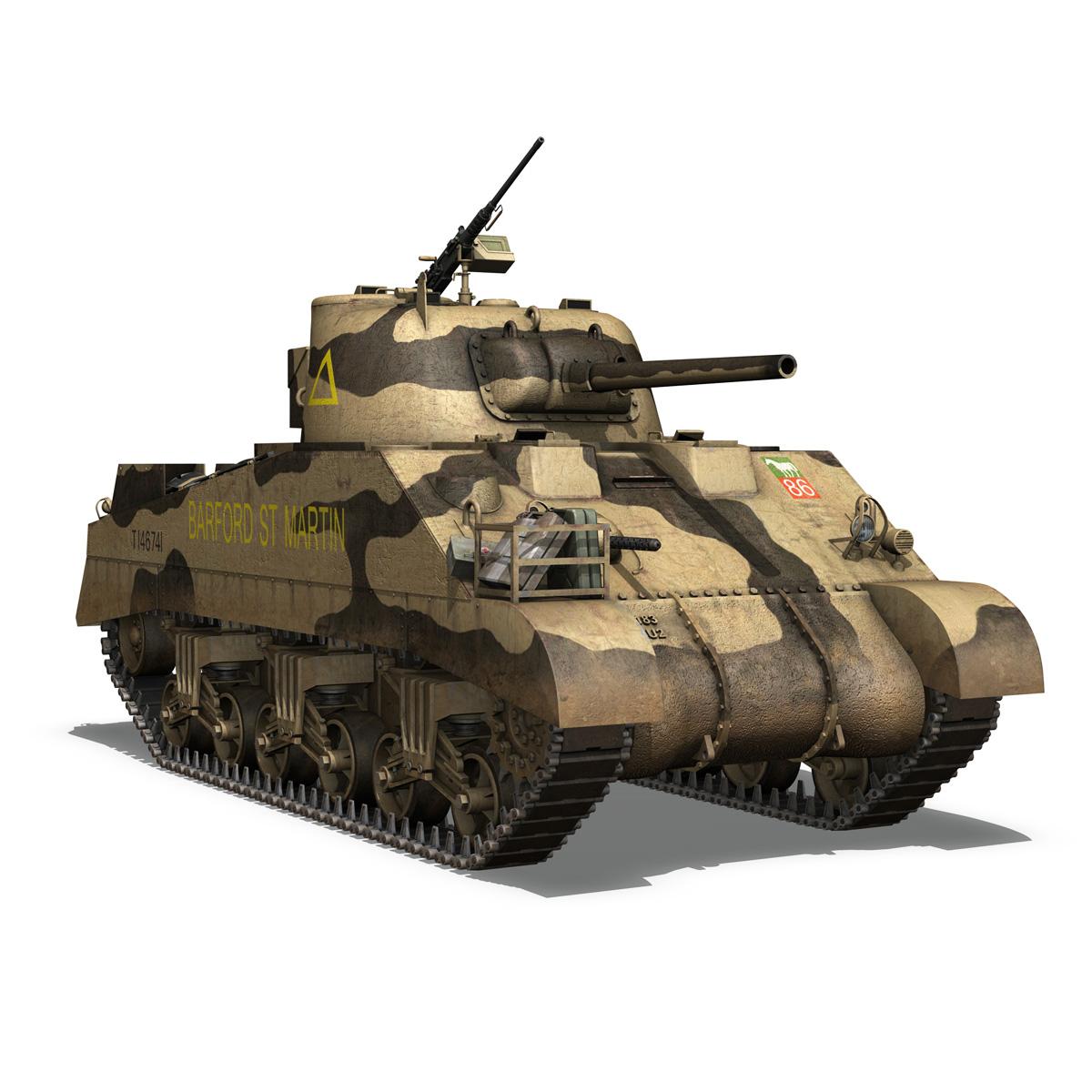 M4 Sherman MK.III - Barford St Martin 3d model  266957