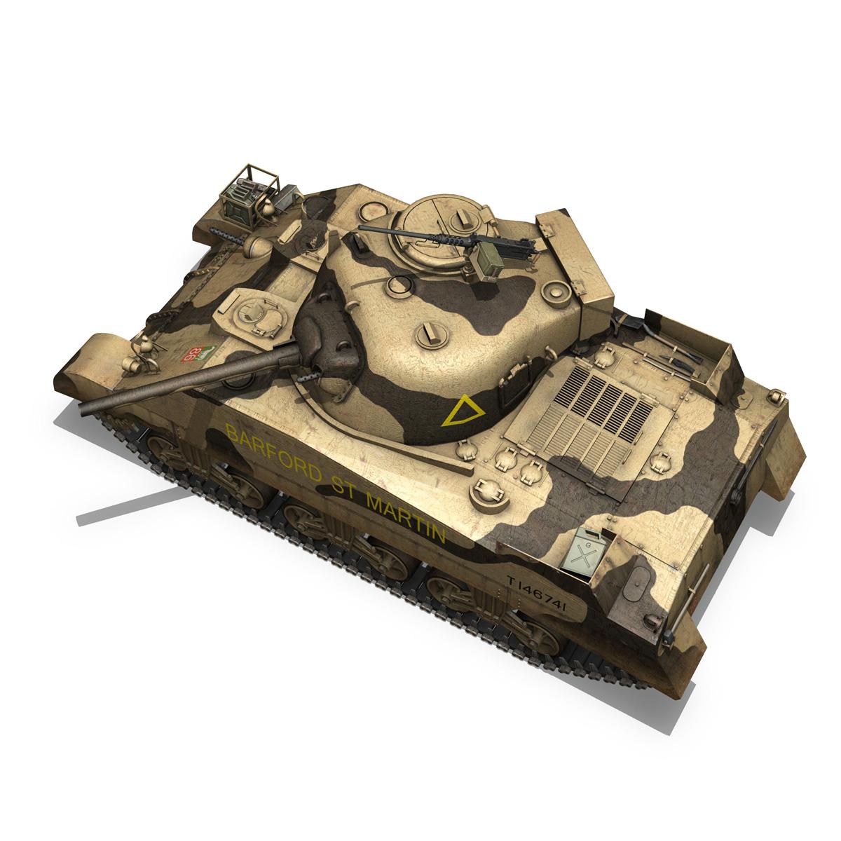 M4 Sherman MK.III - Barford St Martin 3d model  266958