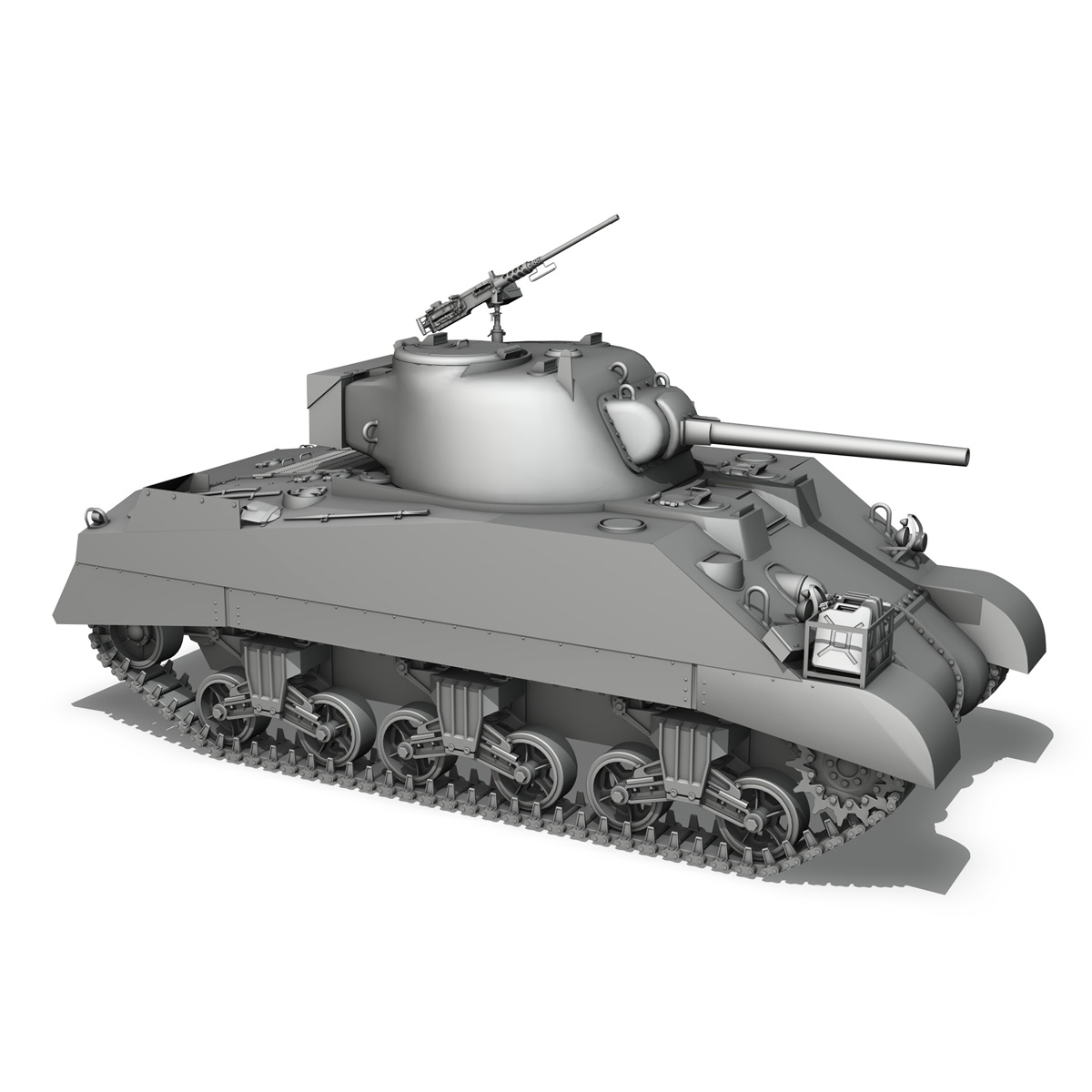 M4 Sherman MK.III - Barford St Martin 3d model  266961
