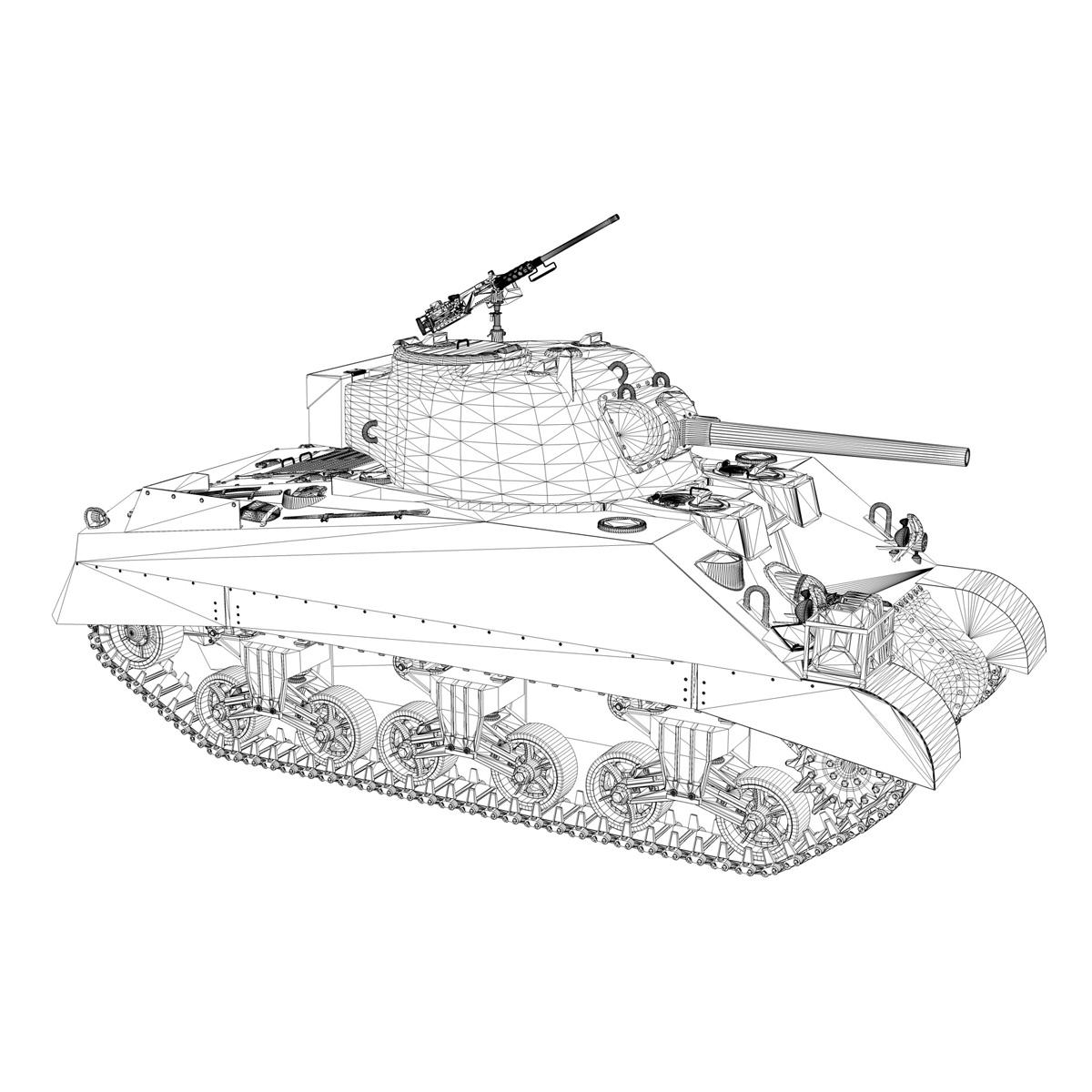 M4 Sherman MK.III - Barford St Martin 3d model  266962