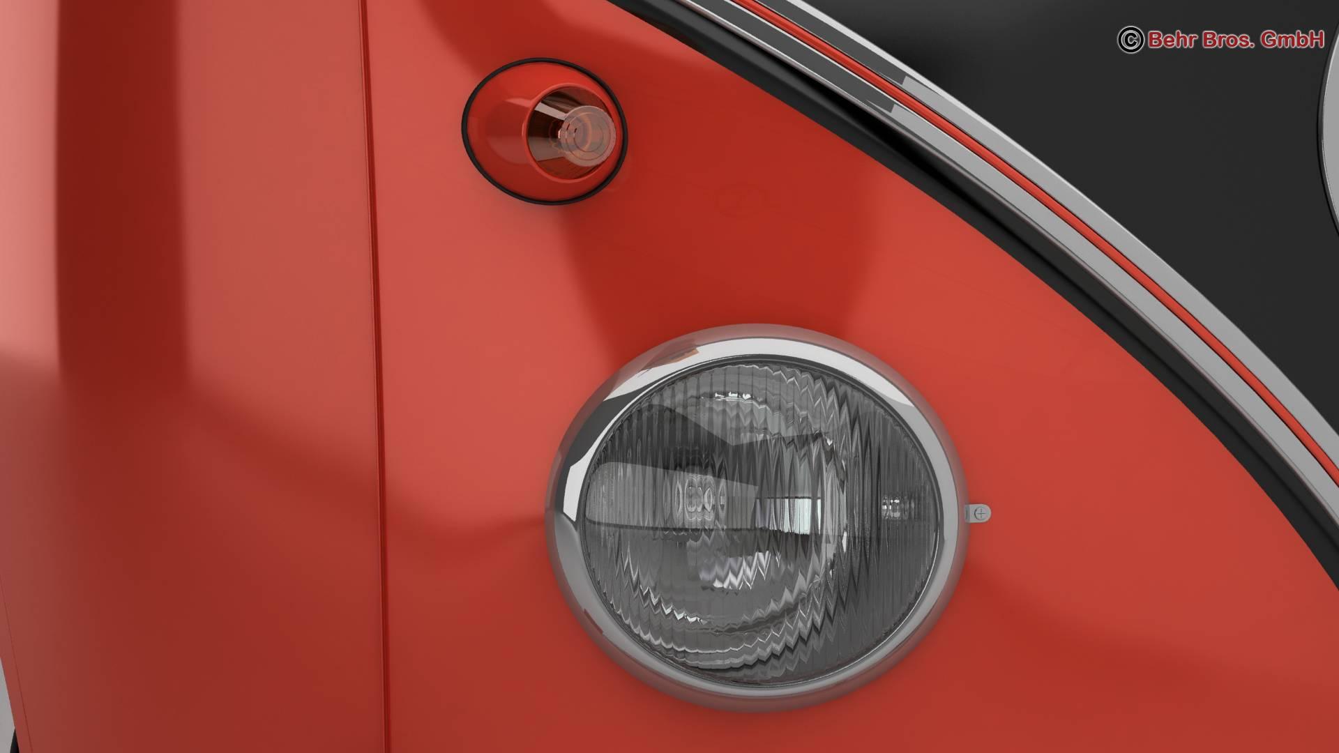 Volkswagen T1 Samba 1959 Accessories 3d model 3ds max fbx c4d lwo ma mb obj 266984