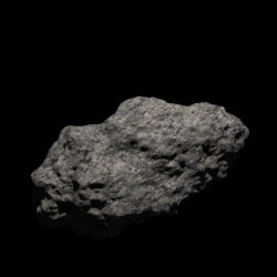 Fantasy Asteroid 2 3d model 0