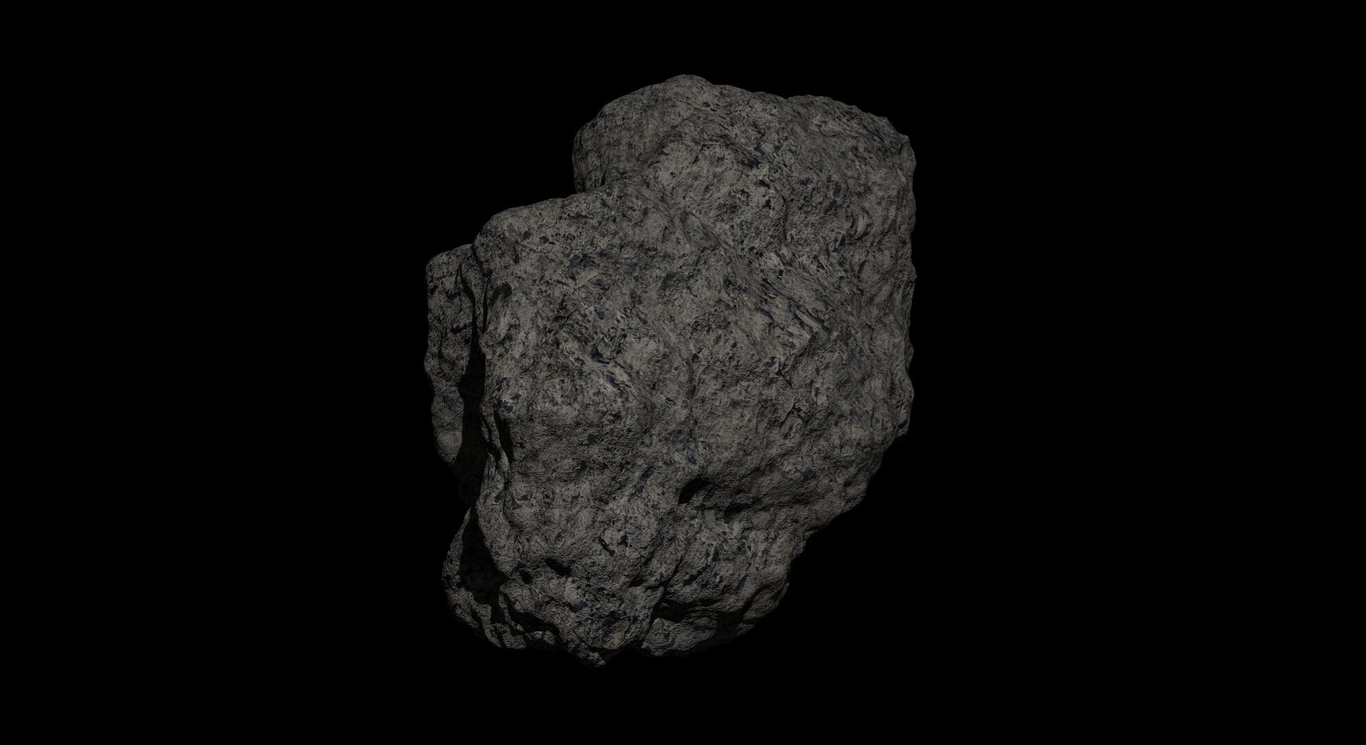 fantaziya asteroid 2 3d modeli 3s qarışığı da fbx obj 267197