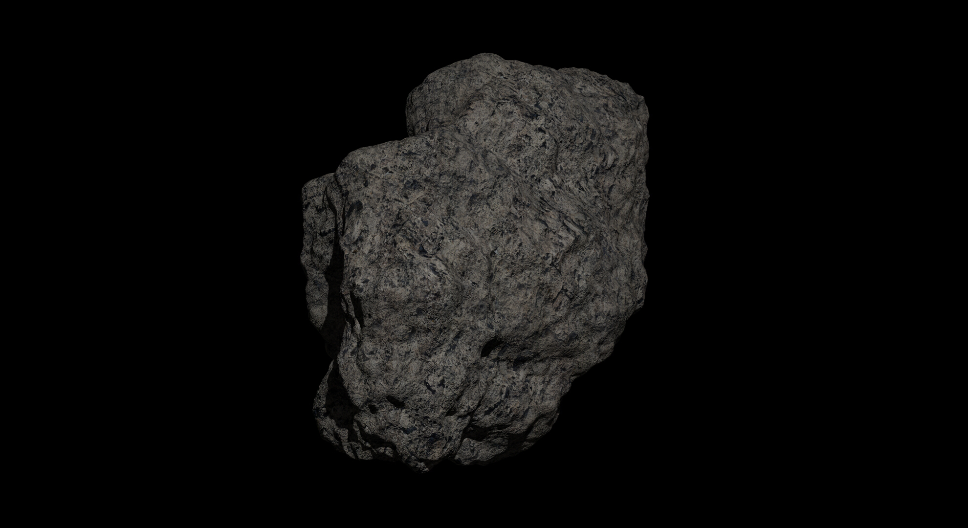 fantasy asteroid 2 3d model 3ds blend dae fbx obj 267197