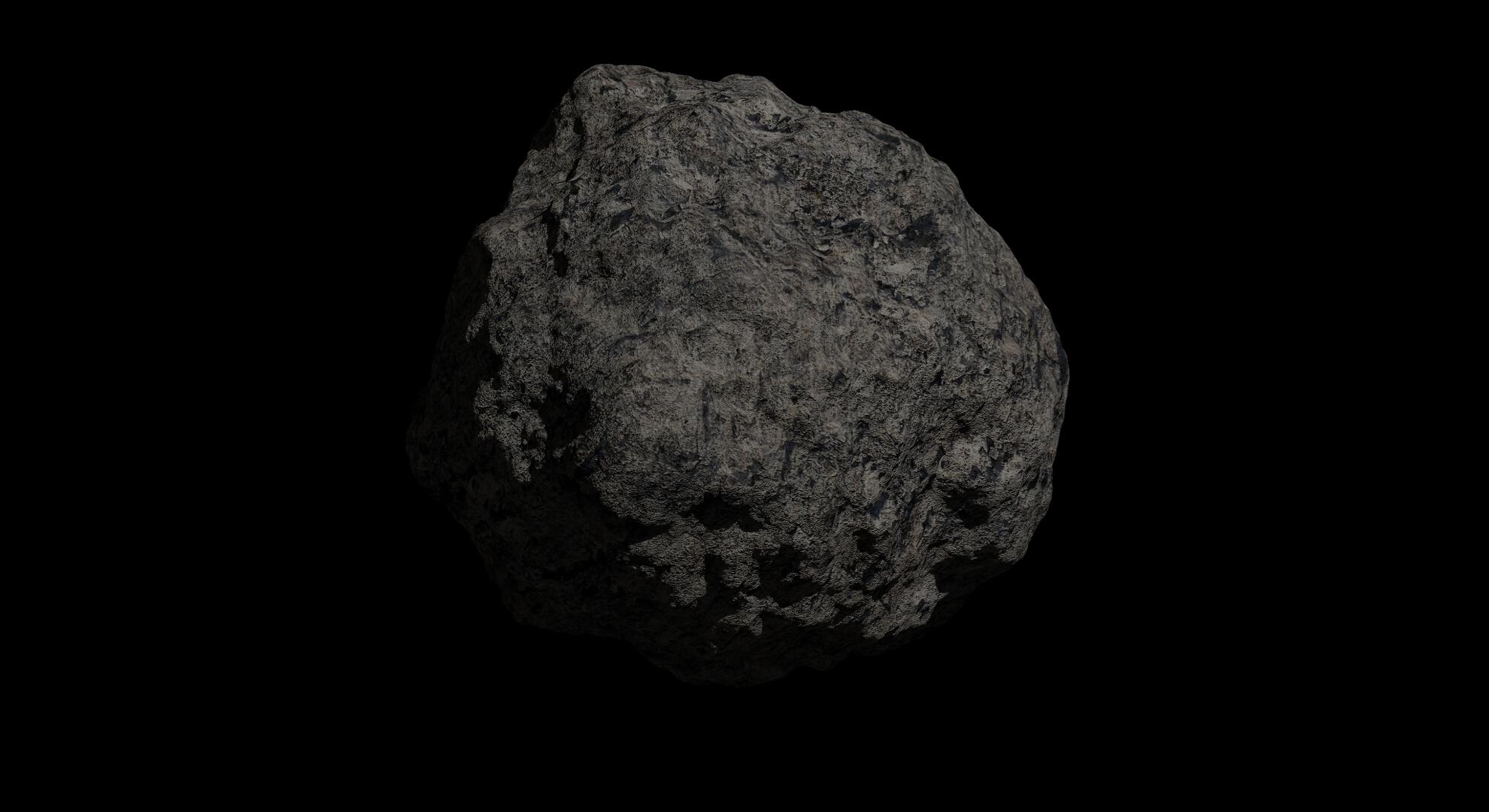 fantaziya asteroid 2 3d modeli 3s qarışığı da fbx obj 267200