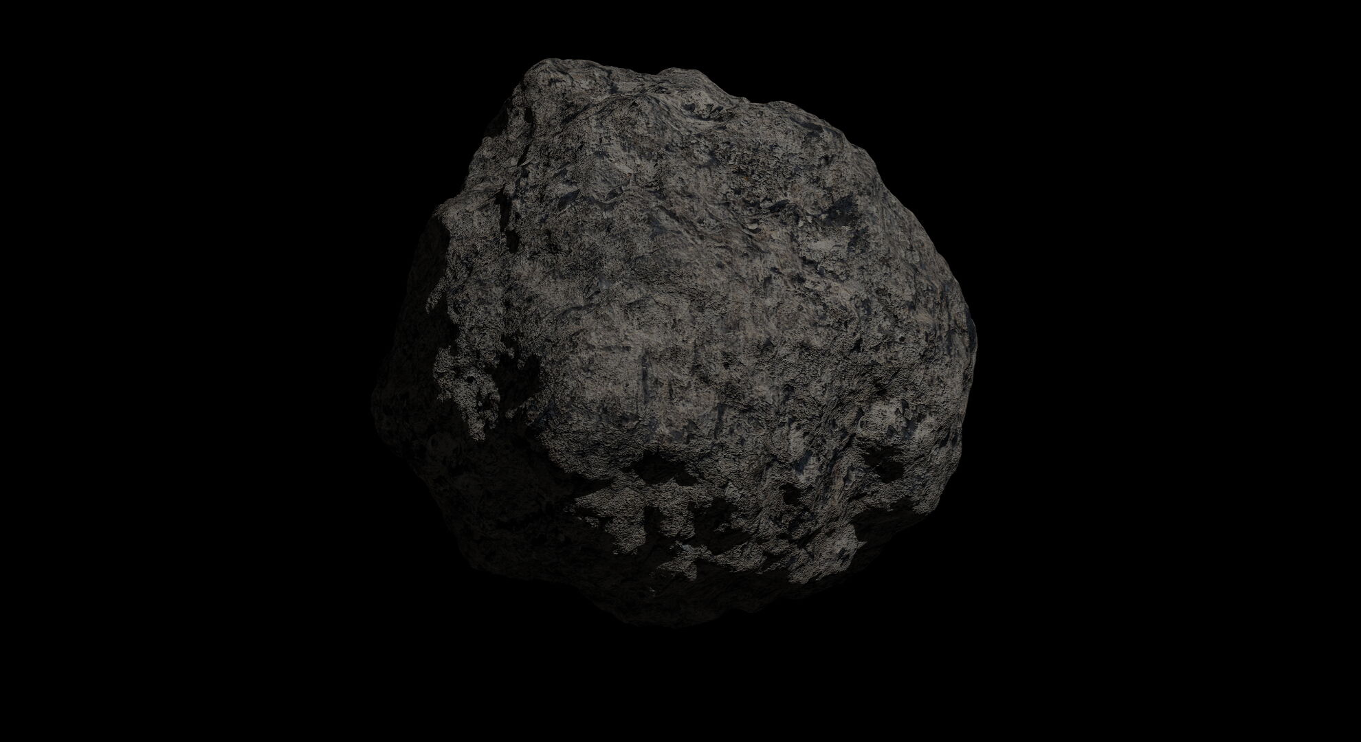 fantasy asteroid 2 3d model 3ds blend dae fbx obj 267200
