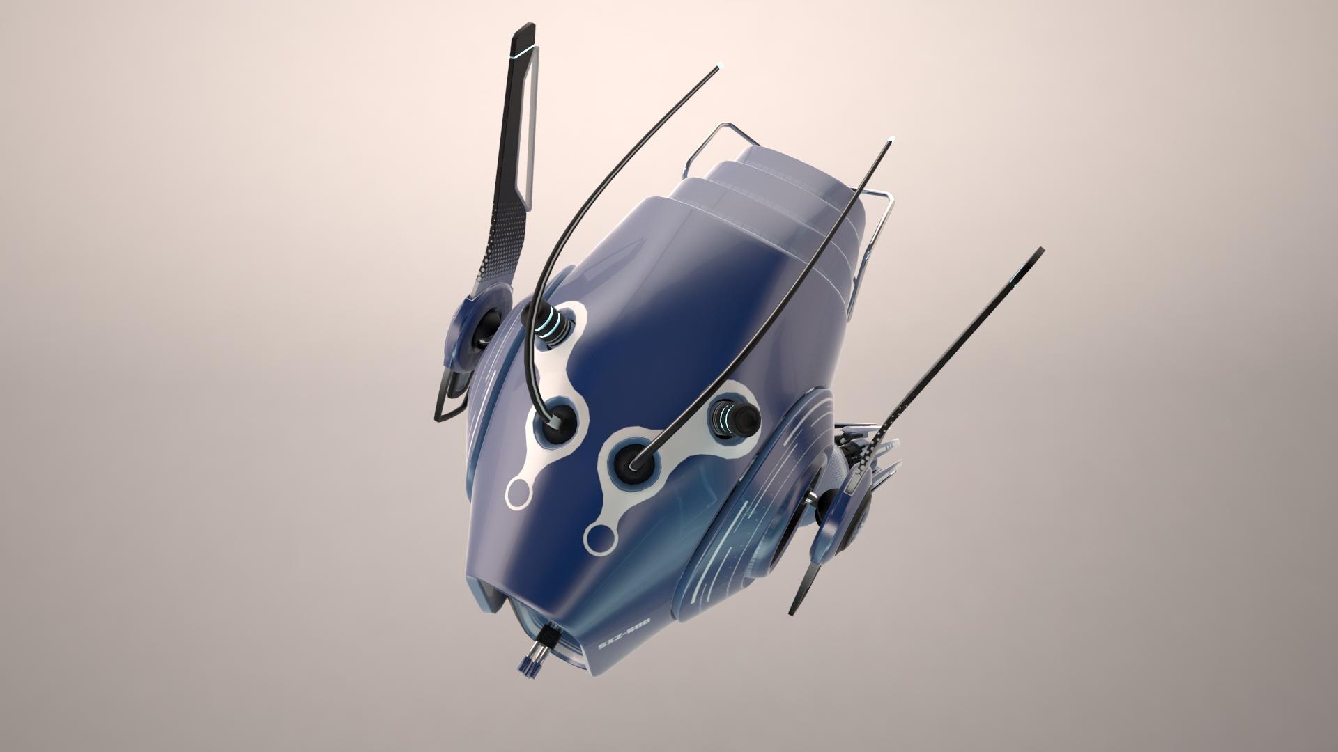 drone sxz600 3d líkan 3ds max fbx obj 267283