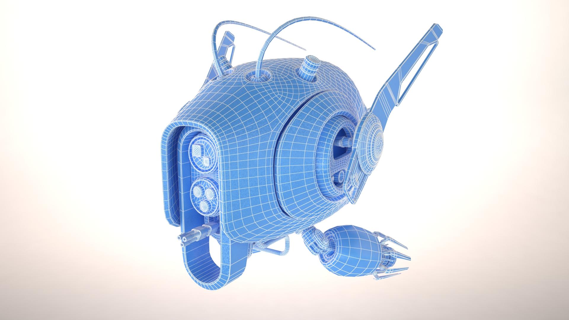 drone sxz600 3d líkan 3ds max fbx obj 267285