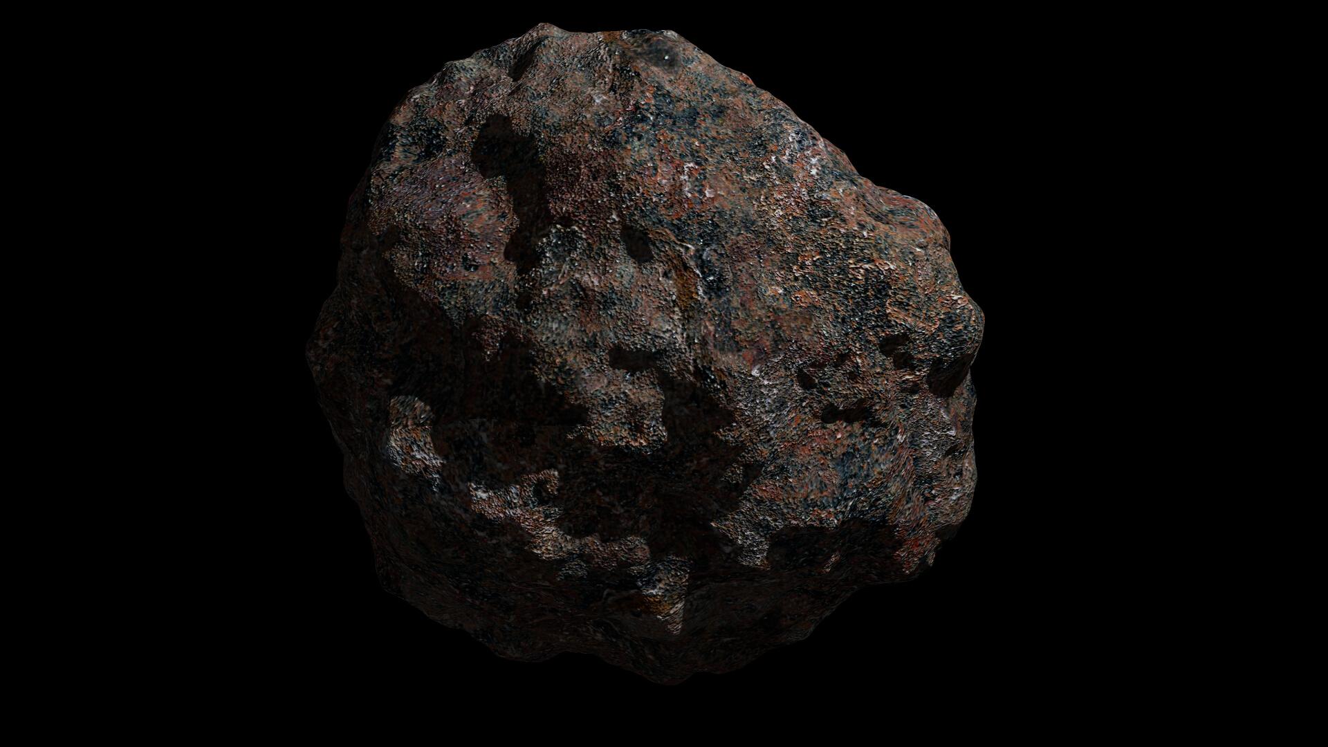 asteroid 3 3d modeli 3ds fbx dae obj 267321
