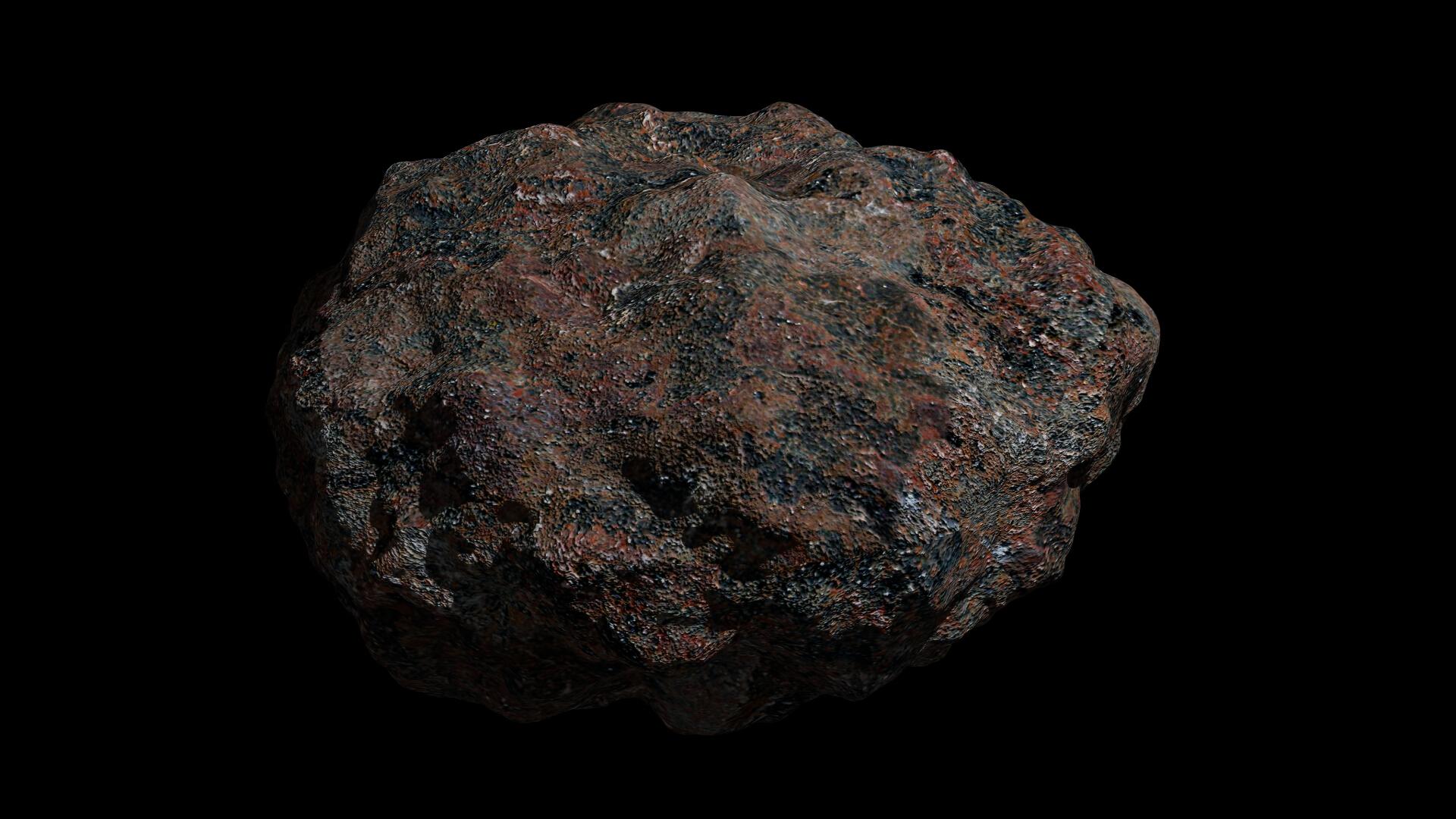 asteroid 3 3d modeli 3ds fbx dae obj 267322
