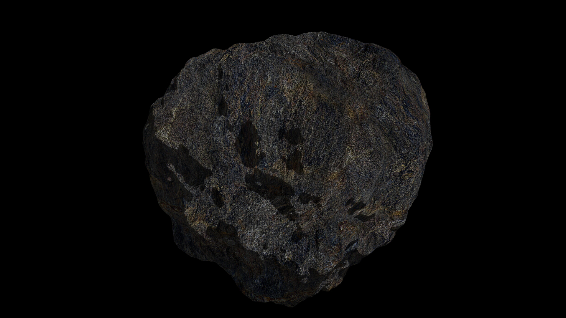 fantasy asteroid 4 3d model 3ds blend dae fbx obj 267359