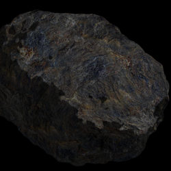 Fantasy Asteroid 4 3d model