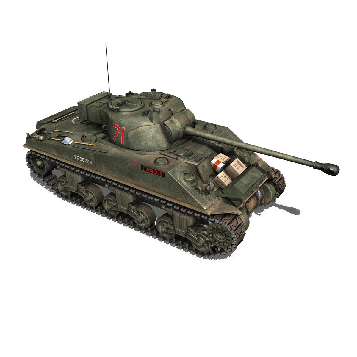 sherman mk vc firefly - karols 3d modelis 3ds fbx c4d lwo obj 267432