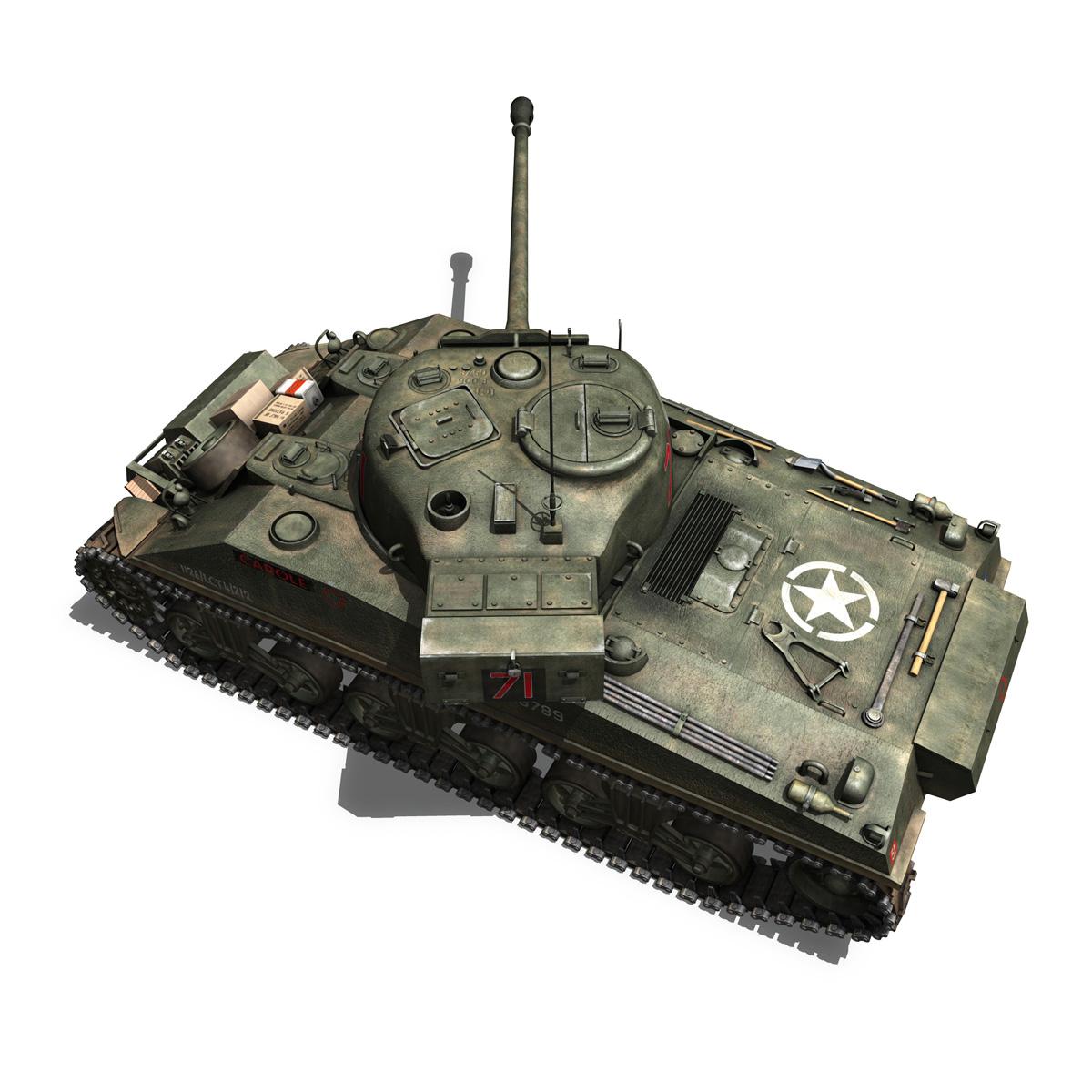sherman mk vc firefly - karols 3d modelis 3ds fbx c4d lwo obj 267434