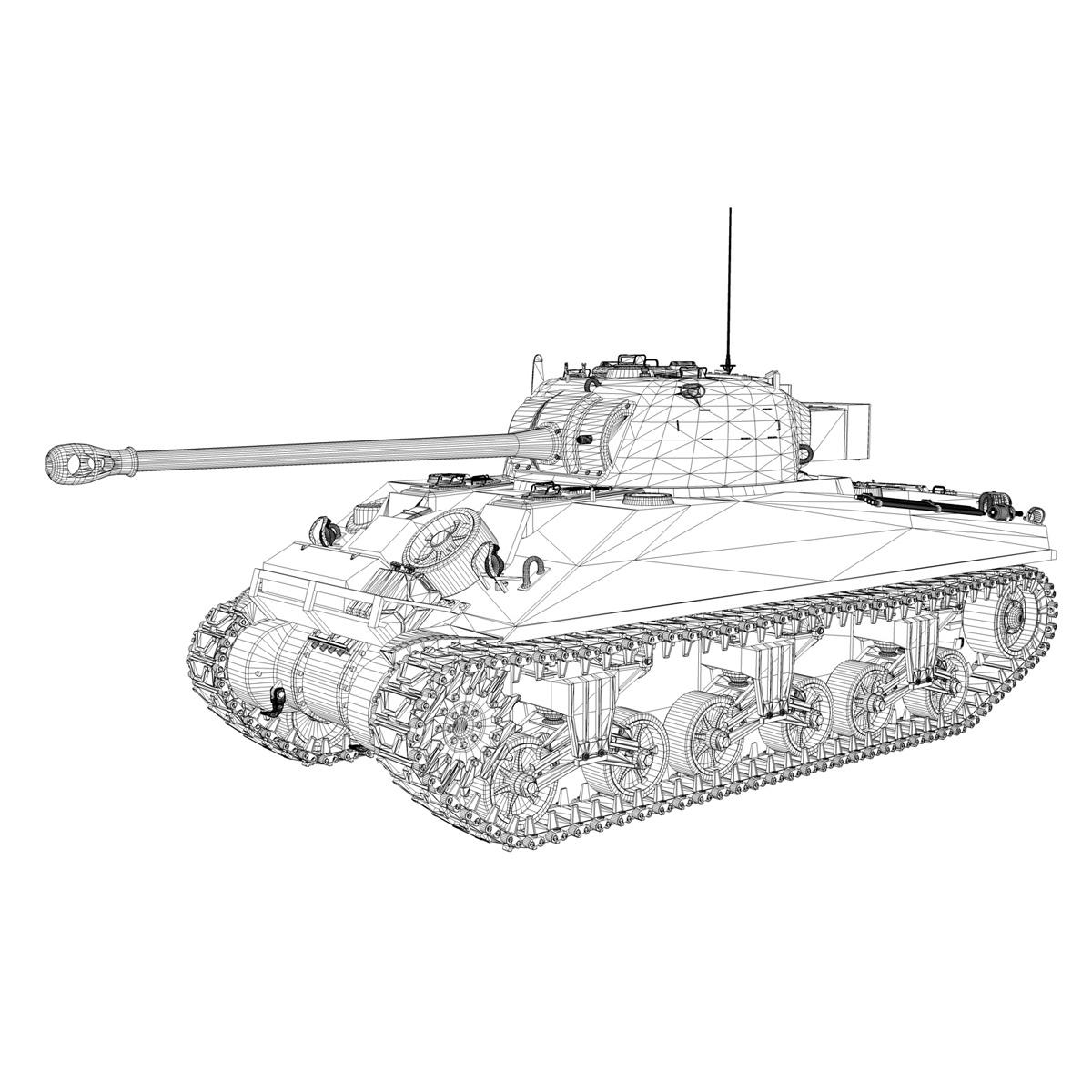 sherman mk vc firefly - karols 3d modelis 3ds fbx c4d lwo obj 267437