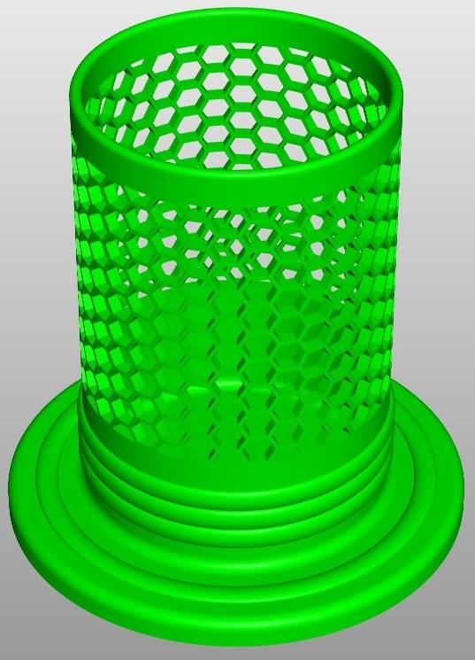 pencilbox hexa a1 3d model 267460