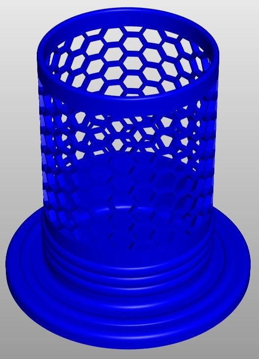 pencilbox hexa a2 3d model 267461